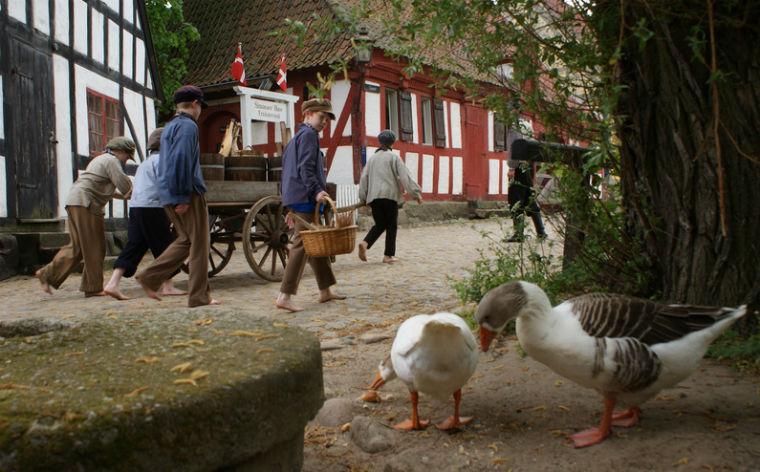 Kom tæt på historien på Danmarks frilandsmuseer