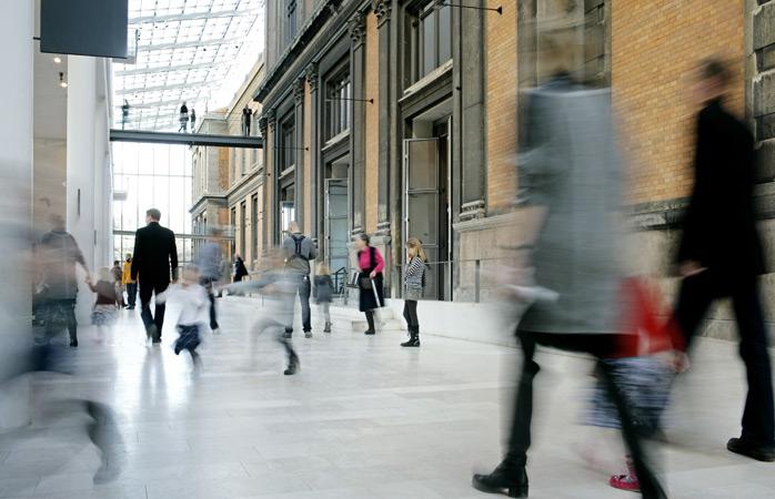 Nyt møder gammelt i Skulpturgaden på Statens Museum for Kunst