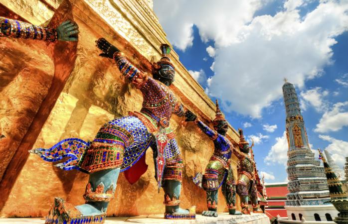 Yakshas ved Wat Phra Kaew