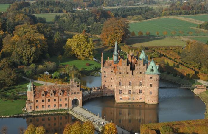 egeskov slot i efteråret