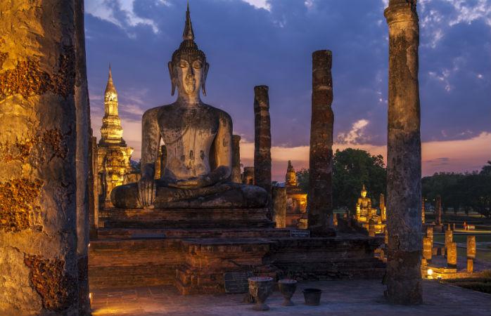 sukhothai den gamle hovedstad