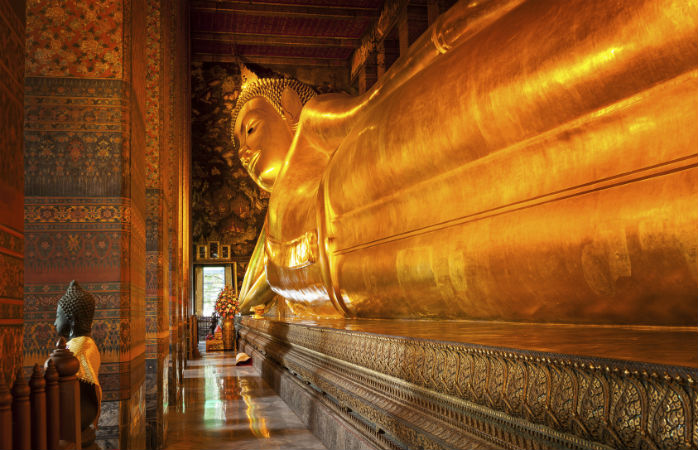 wat po reclining buddha