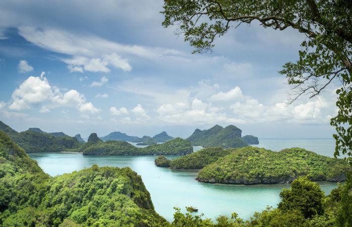Mu Ko Ang Thong marine nationalpark