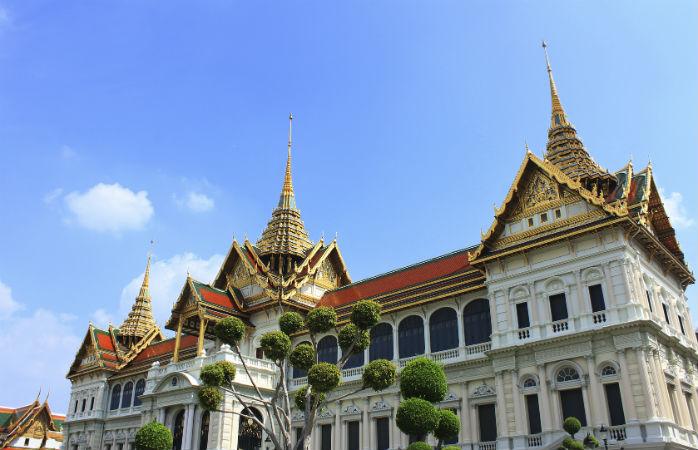 the grand palace i bangkok