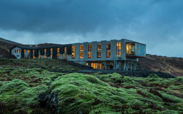 8 naturskønne hoteller i Island