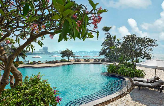 Luksus hotel i thailand Dusit Thani Pattaya