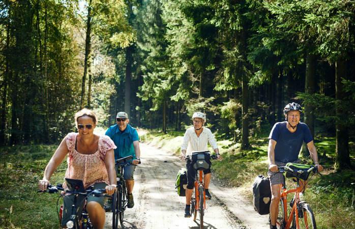 cykle på Margueritruten