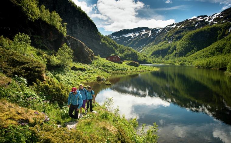 Billedskønne vandreture i Norge