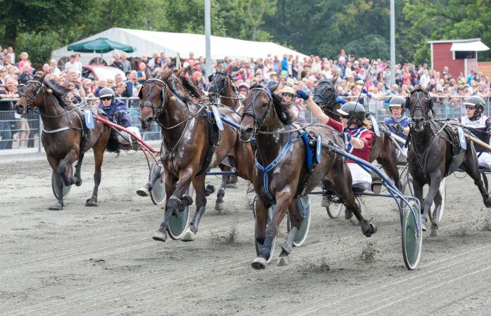 Hestevæddeløb på Bornholm