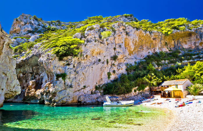 Middelhavets bedste ferieøer Vis