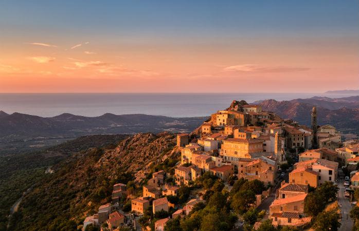 Middelhavets bedste ferieøer Korsika