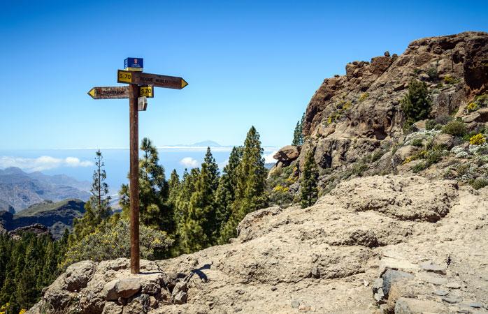 Tag vandrestøvlerne med og udforsk Gran Canarias hellige bjerge