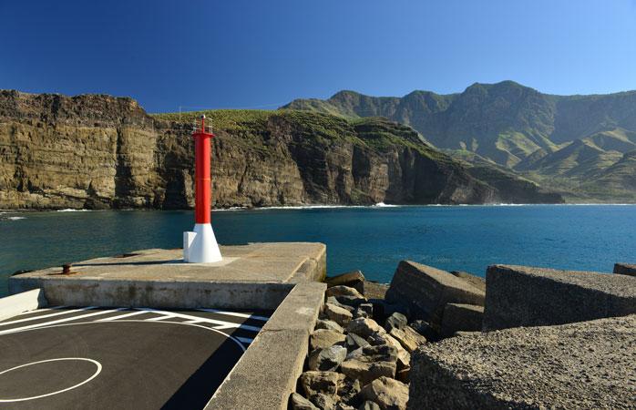 Kystlandsbyen Puerto de Las Nieves på Gran Canaria er berømt for sine fiskerestauranter med fremragende udsigt