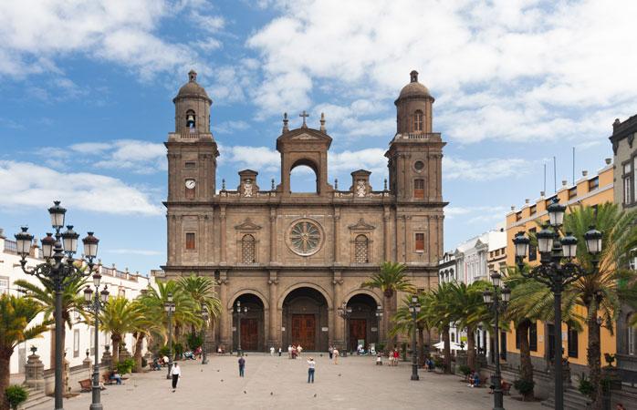 Santa Ana-katedralen i Las Palmas de Gran Canaria
