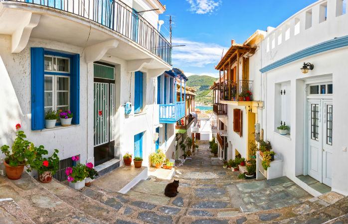 Skopelos, Græsk ø