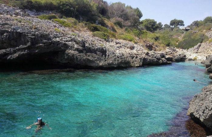 Cala Murta på Mallorca