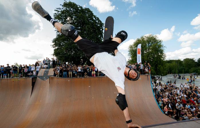 Skateparken i Fælledparken