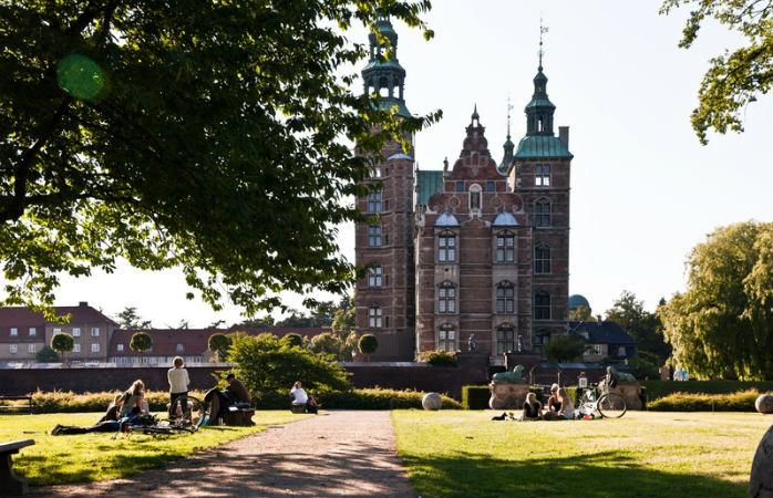 Rosenborg Slot i Kongens Have