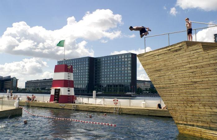 Havnebadet på Islands Brygge