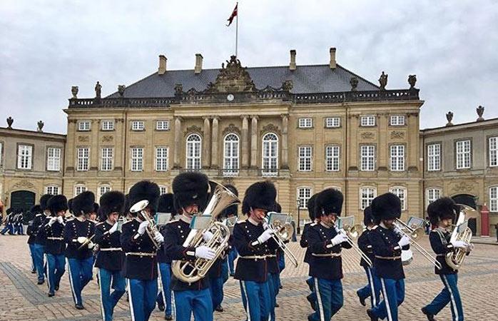 Livgarden ved Amalienborg