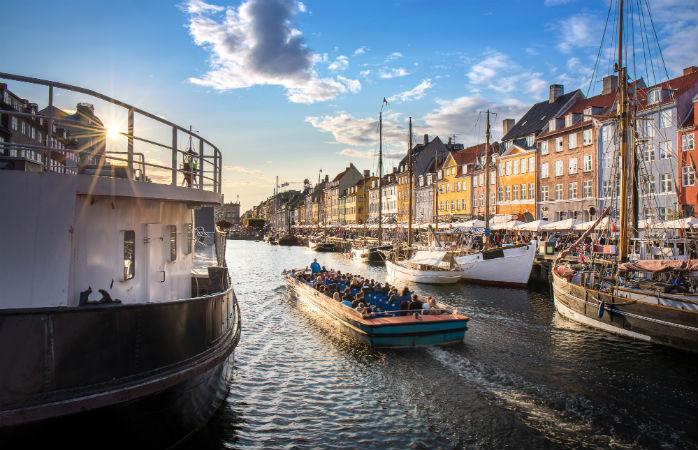 Sejltur i Nyhavn