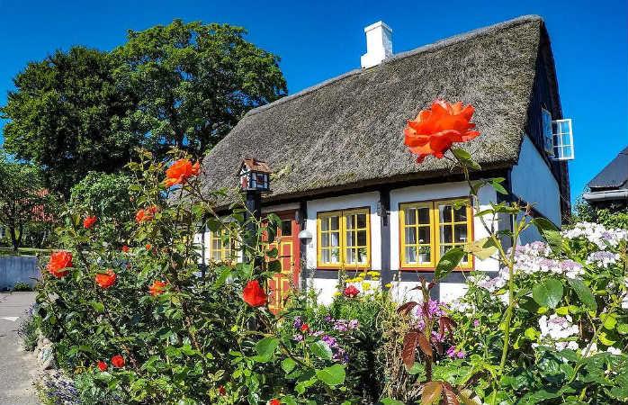 Samsø, en af de populære danske ferieøer