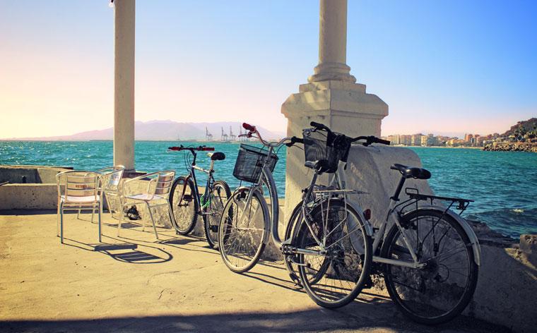 Jagt solen: cykelferie i Málaga fra solopgang til solnedgang