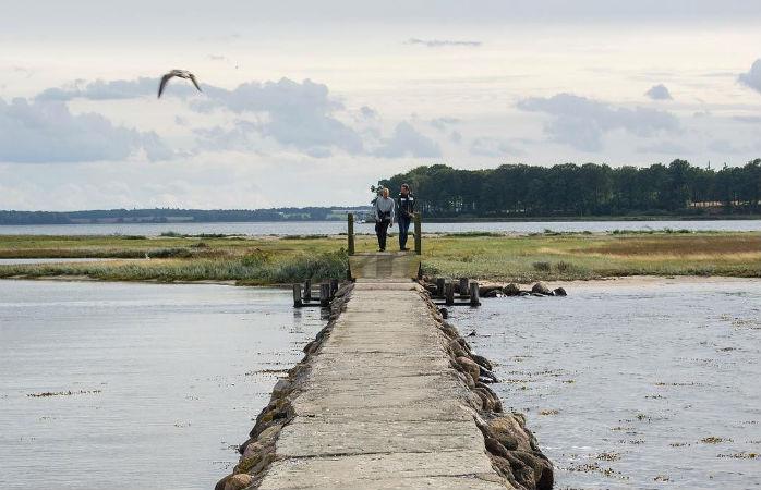 Hold ferie på Hjarnø