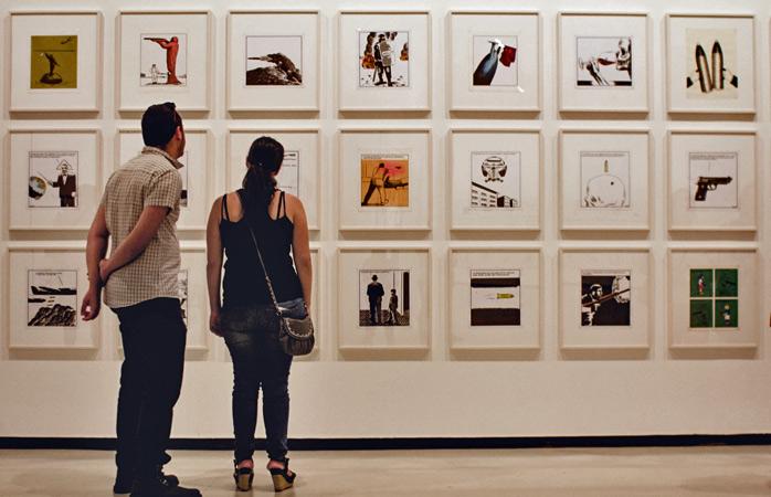 Du kan bruge timevis på at udforske samtidskunsten på CAC de Málaga