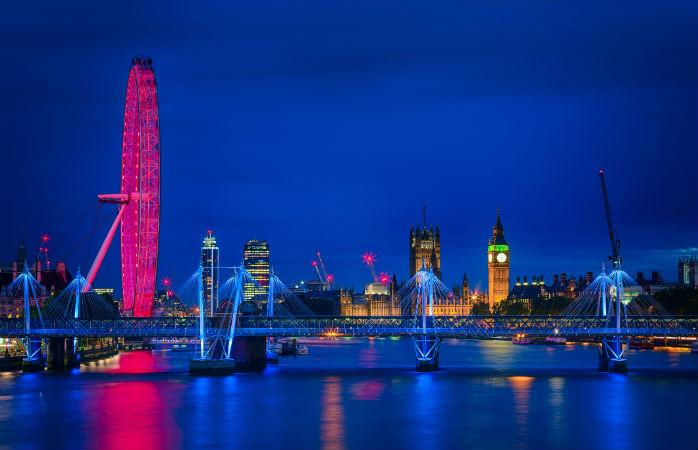 Få en fantastisk udsigt fra the London Eye
