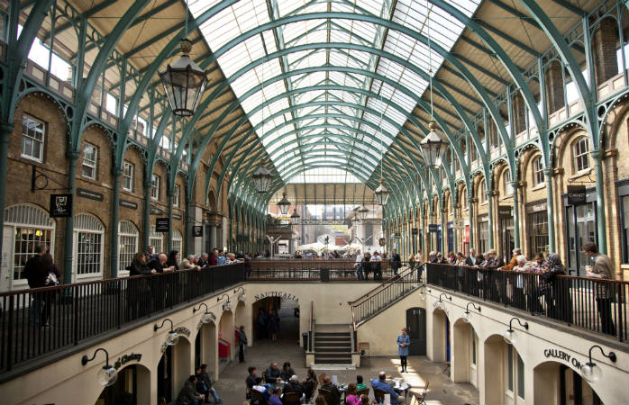 Covent Garden i London