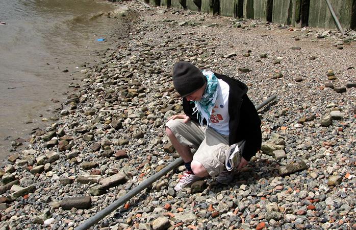 Mudderskattejagt ved Themsen