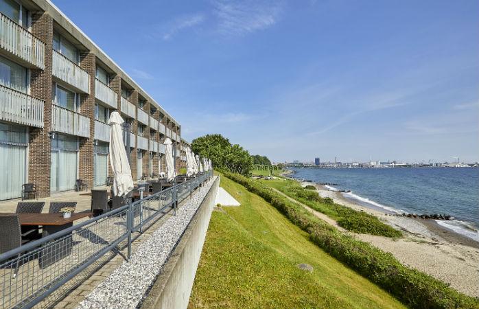 Helnan Marselis Hotel, hotel med havudsigt i Århus