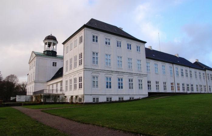 Gråsten Slot i Sønderjylland