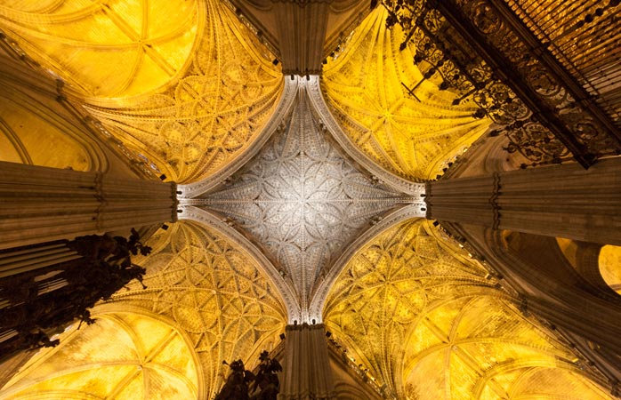 Sevilla er hjemsted for verdens største gotiske katedral