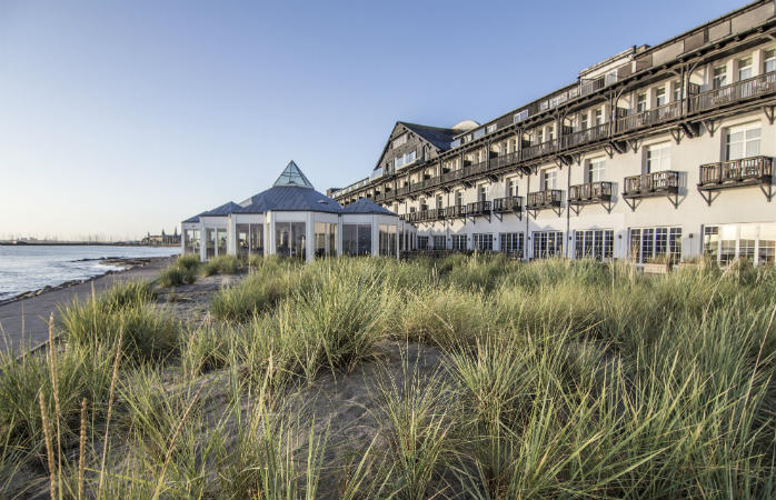 Marienlyst Strandhotel, hotel med havudsigt i Nordsjælland
