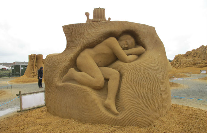 Sandskulpturfestival i Søndervig
