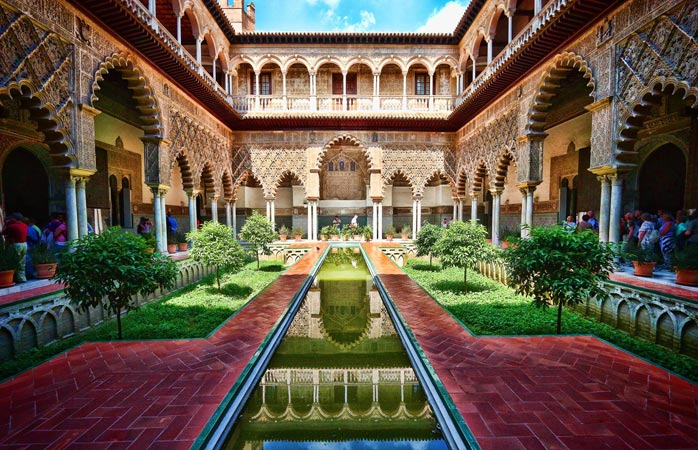 Sevillas kongelige palads, Alcázar
