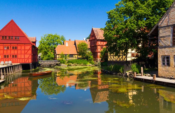En gennemgang af dansk historie i Den Gamle By
