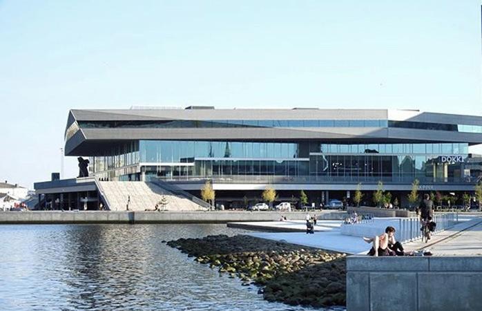 Et af Skandinaviens mest prægtige biblioteker: Dokk1