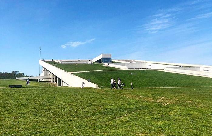 Græsset er grønnere ved Moesgaard Museum