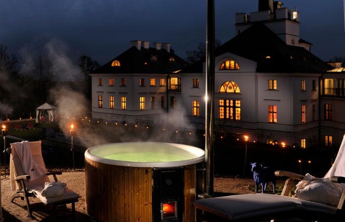 Det nordtyske spahotel Schlosshotel Burg Schlitz