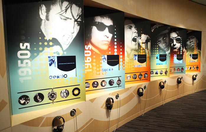 Mød rock'n'rolls kongelige i GRAMMY Museum, Los Angeles.