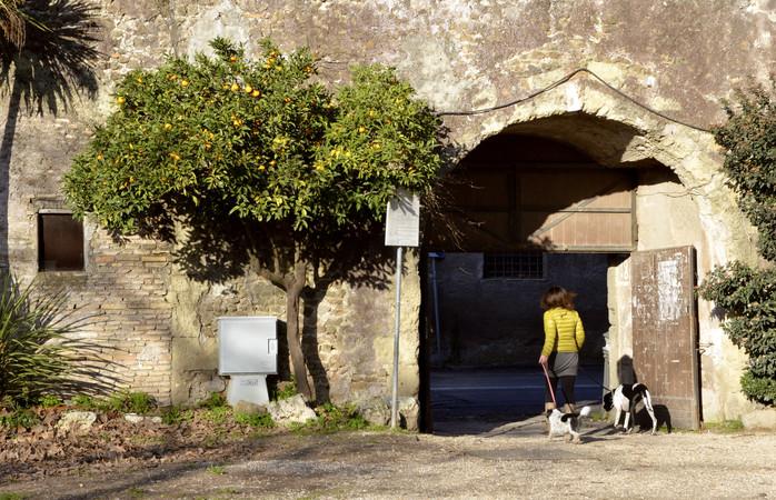 Villa Doria Pamphili er det perfekte sted at slappe af