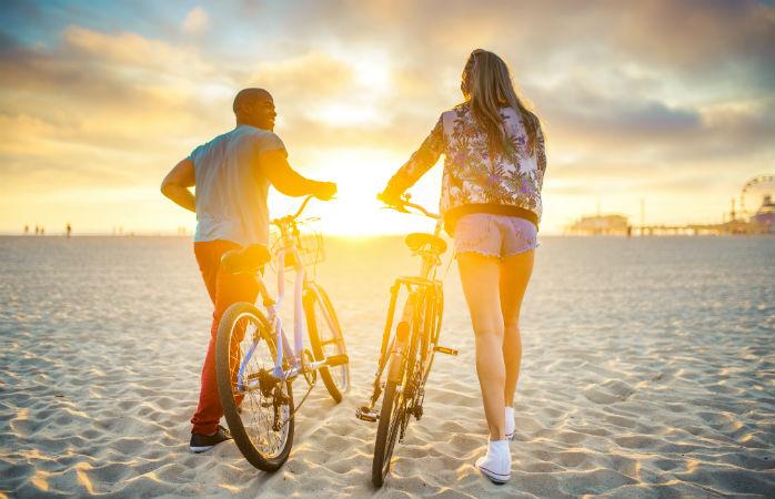 Cykelleje i Santa Monica