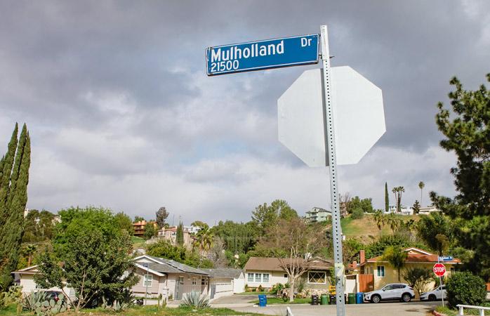 Tag på din egen Hollywood-tur på den berømte Mulholland Drive