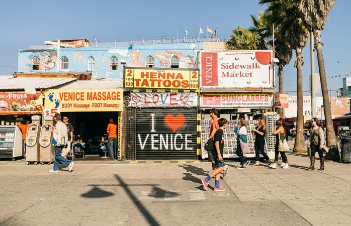 Oplev den særlige stemning i Venice Beach