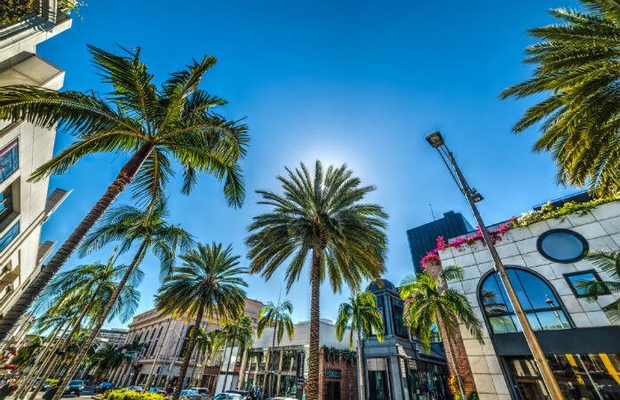 Rodeo Drive i Los Angeles