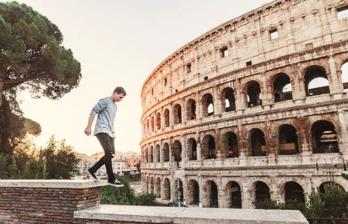 Colosseum - Seværdigheder i Rom