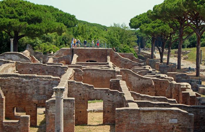 Ostia - Seværdigheder i Rom
